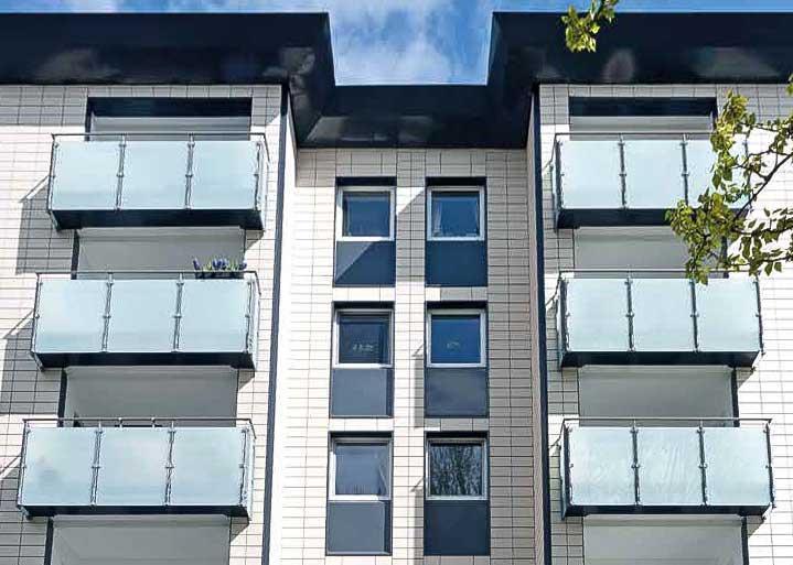 Vorgehängte hinterlüftete Fassaden Dwuzet Fassadentechnik