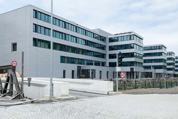 Vorwerk Wuppertal Aluminium Steckpaneelen Attikabekleidungen Sandwichbekleidungen Dwuzet Fassadentechnik