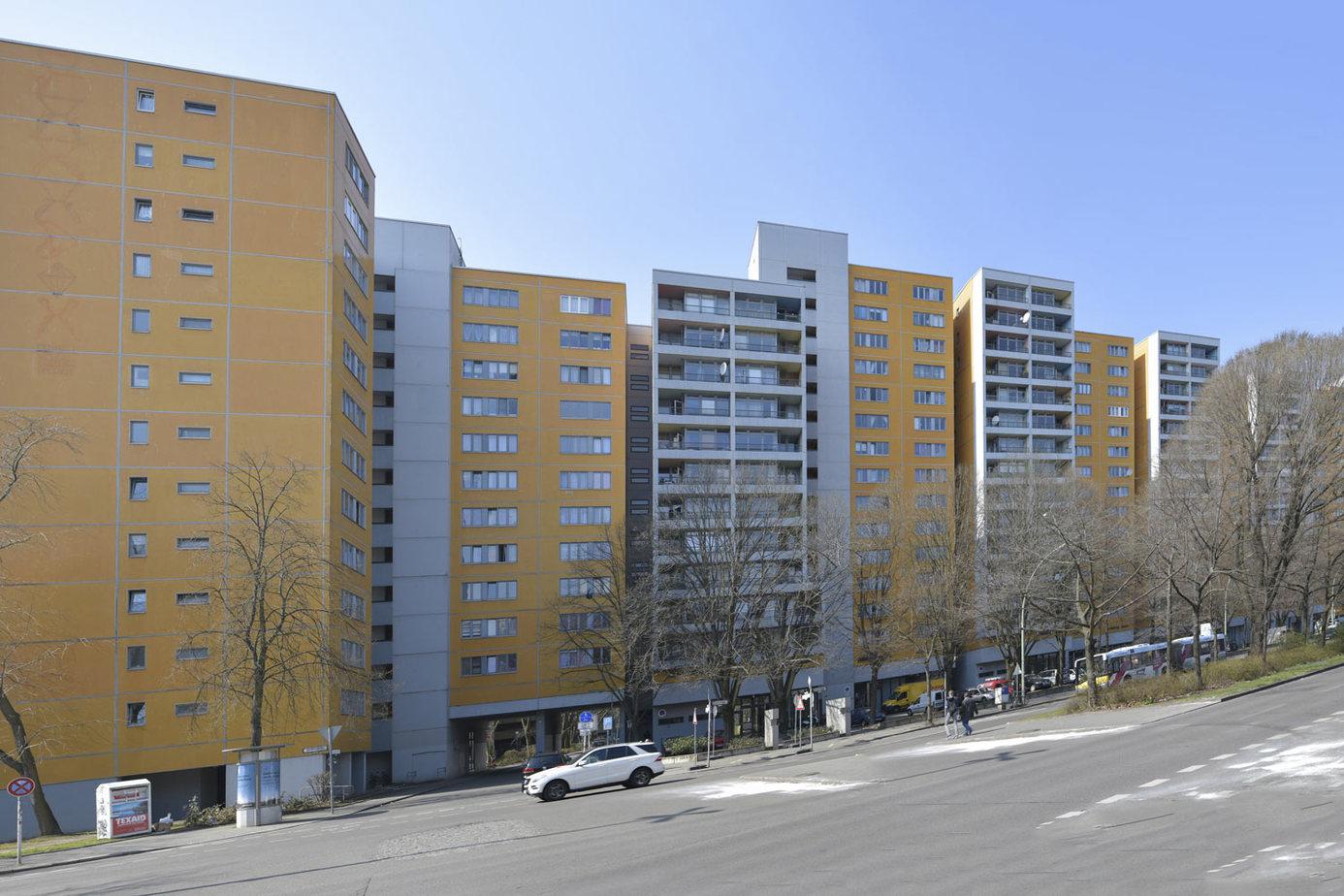 Sicherung Instandsetzung Wohnkomplex Lindenstraße Berlin