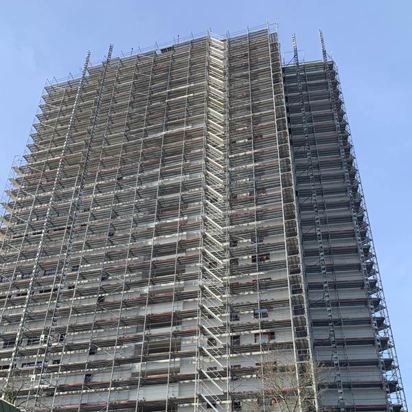 DWUZET Fassadentechnik Fassadensanierung AAlto